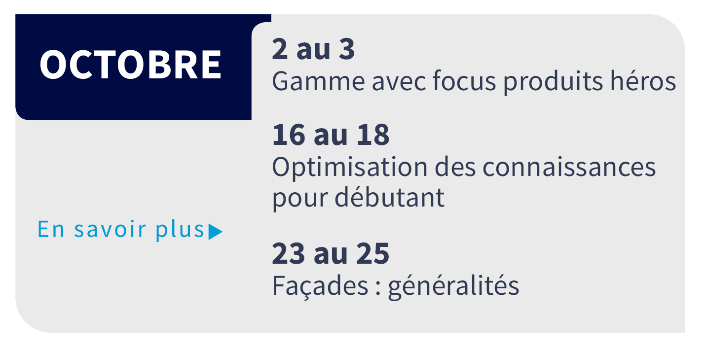 Formation d'Octobre